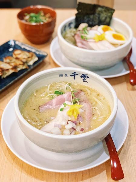 麵屋千雲 |半夜也能吃到的拉麵店|濃厚雞白湯拉麵、鹽味雞白湯拉麵