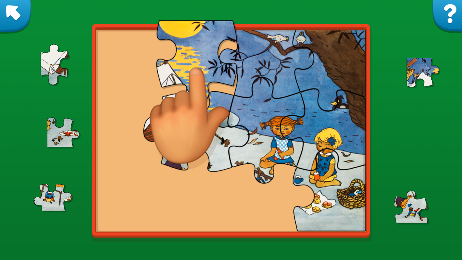 Pippi Puzzle- screenshot