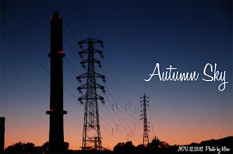 Photo: 秋の空