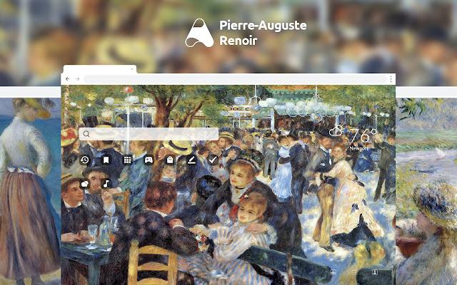 Pierre-Auguste Renoir HD Wallpapers New Tab