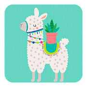 App Icon for Cactus & Llama stickers for WhatsApp WAStickerApps App in Hong Kong Play Store
