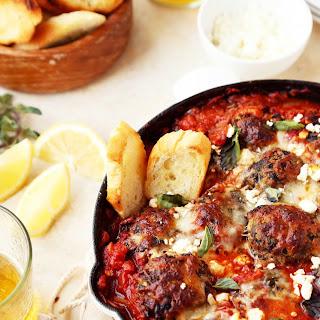 Spicy Mediterranean Meatballs.