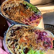 Pork & Chorizo Burrito