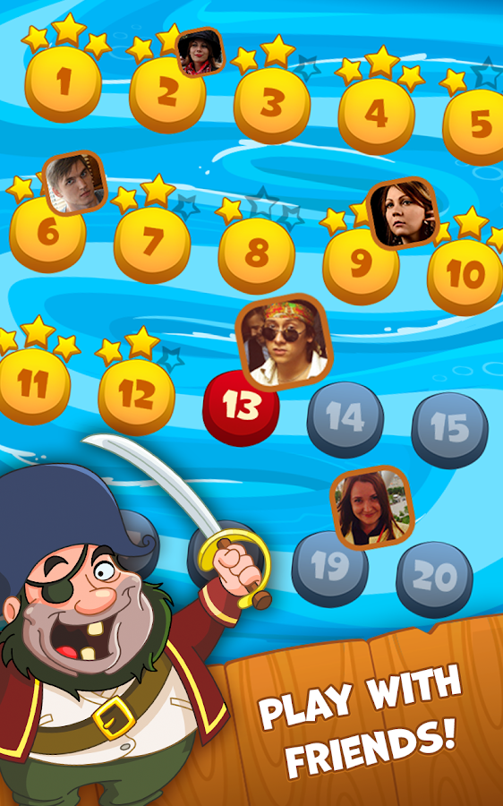 Screenshots of Pirate Treasures for iPhone