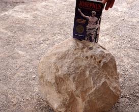 Photo: Catapult stone