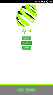 Zest Liverpool App- screenshot thumbnail