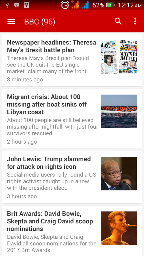 World News- screenshot