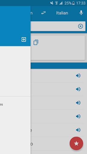 German-Italian Dictionary 2.0.1 screenshots 8