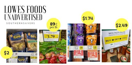 Lowes Foods Unadvertised Deals: 6/16-6/22