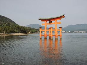 Photo: 宮島を観光。 昼から福岡に向けて走り、8時に箱崎到着。 お疲れさまでした!