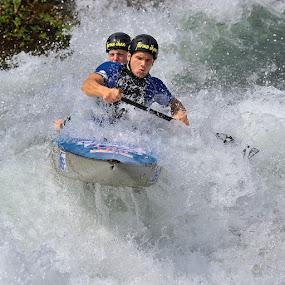 kayak by Bostjan Pulko - Sports & Fitness Other Sports ( kayak )