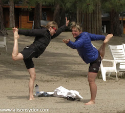 Photo: Canada's top syncro yoga team prepares for their Olympic debut!