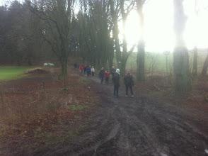"""Photo: RSG-Winter-Wanderer auf dem """"Alten Pilgerweg"""""""