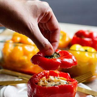 Italian Stuffed Peppers.