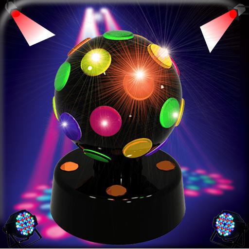 Lanterna luzes de discoteca