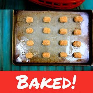 Baked Parmesan Sweet Potato Tots.
