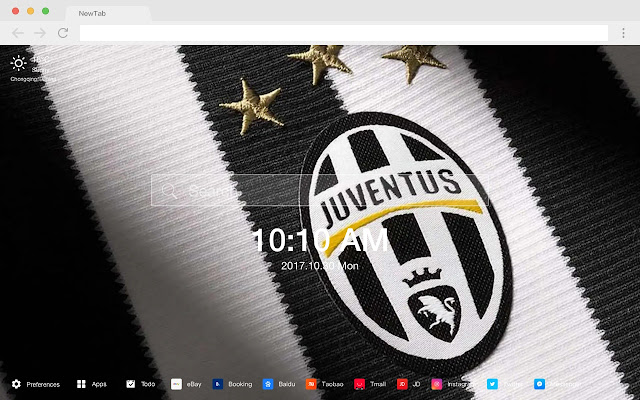 Juventus HD Featured Football New Tab