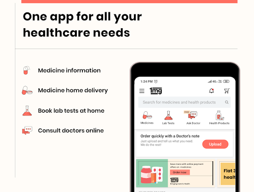 1mg - Online Medical Store & Healthcare App screenshot 1