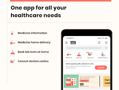 Download Full 1mg - Online Medical Store & Healthcare App 11.4.2 APK