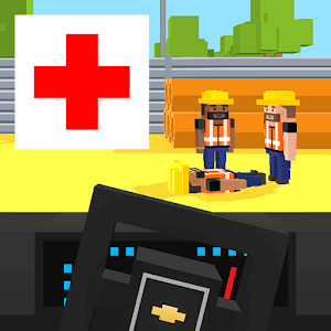 Ambulance Blocky for PC and MAC