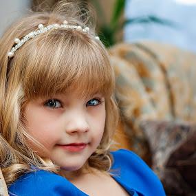 Little princess by Dmitriev Dmitry - Babies & Children Child Portraits ( child, girl, portrait )