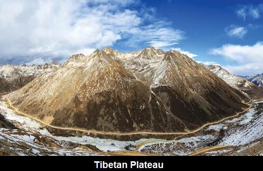 तिब्बत पठार की छवि