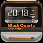 BlackQuartz Clock Widget Icon