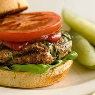 Grilled Turkey Burgers.