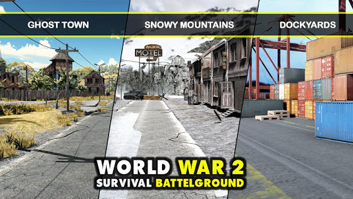 WW2 US Commando Strike Free Fire Survival Games 1.8 7