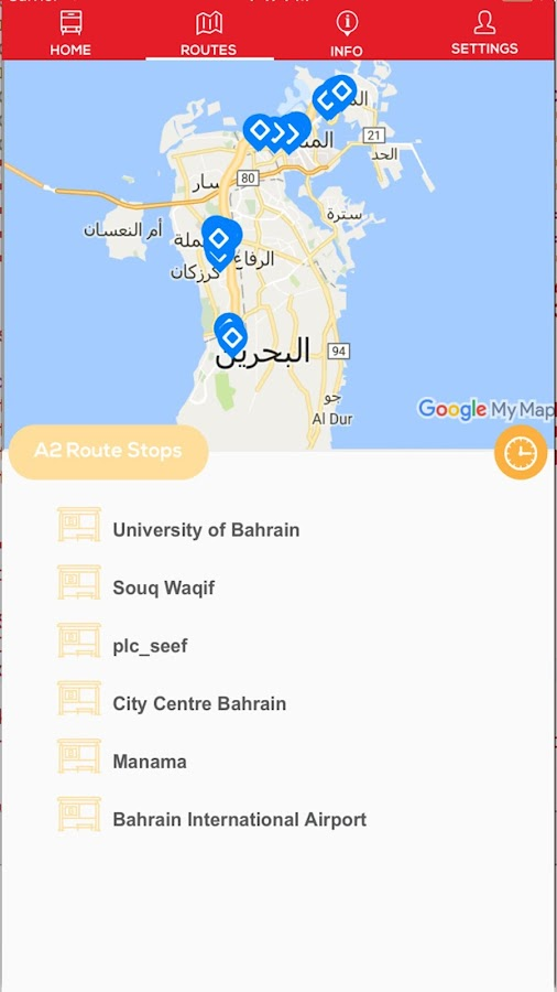 Bahrain Bus Android Apps On Google Play - Bahrain interactive map
