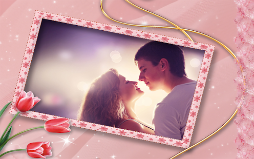 Valentine's Day Photo Frames Screenshot