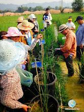 Photo: Farmer discussion