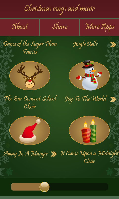 Christmas Songs and Music- screenshot