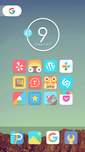 Mefon - Icon Pack 이미지[1]