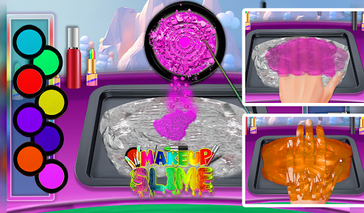 DIY Makeup Slime Maker! Super Slime Simulations screenshot 12