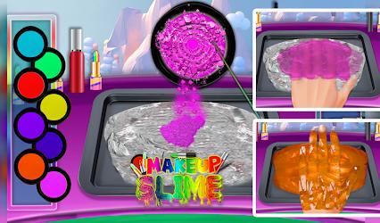 DIY Makeup Slime Maker! Super Slime Simulations