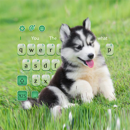 Adorable Cute Puppy Keyboard Theme Android APK Download Free By Royale Keyboard Studio