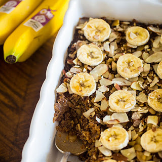 Vegan Gingerbread Banana Quinoa Breakfast Bake