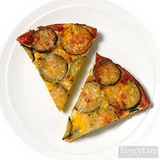 Crustless Zucchini Quiche.