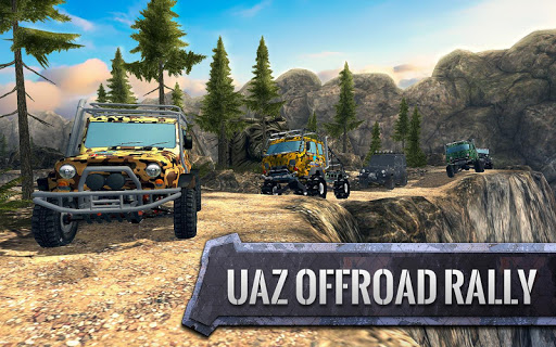 ud83dude97ud83cudfc1UAZ 4x4: Dirt Offroad Rally Racing Simulator android2mod screenshots 1