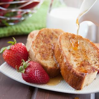 Honey Vanilla French Toast.