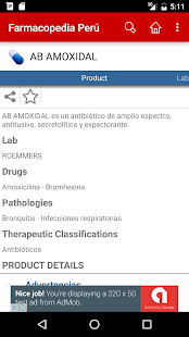 Farmacopedia Peru- screenshot thumbnail