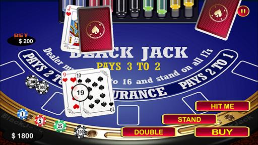 Blackjack 21 Black Jack Table 2.0 Mod screenshots 1