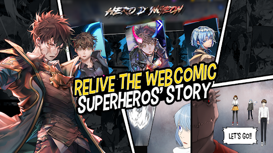 Hero Cantare with WEBTOON™ MOD Apk 1.2.160 (Unlocked) 4