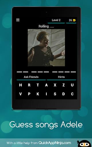 Quiz songs Adele apkmind screenshots 12