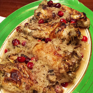 Turkey with Cranberries and Sauerkraut