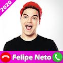 Fake Felipe Neto Call  📞 icon