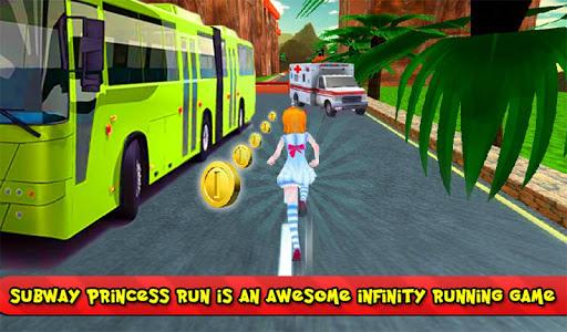 Subway Princess Bus Rush Run screenshot 10