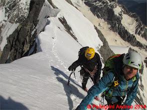 Photo: IMG_8932 Lorenzo e Riccardo sulla Suldengrat, in bilico sul cielo
