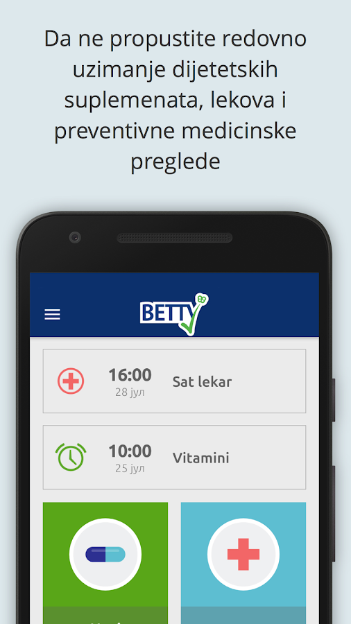 BETTY Pharmacy- screenshot